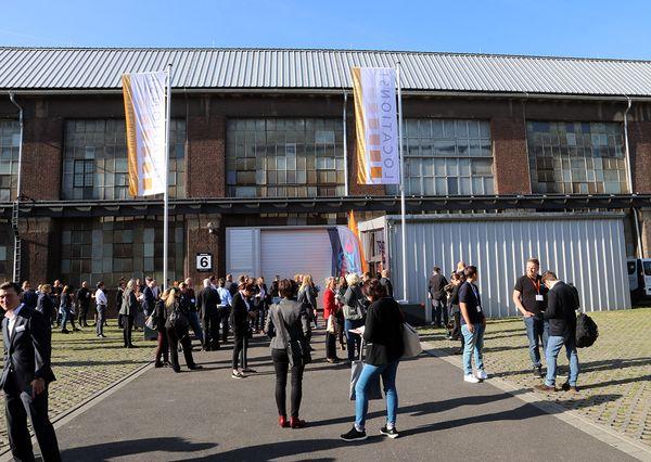 Location Messe Rhein Ruhr Menschenmenge