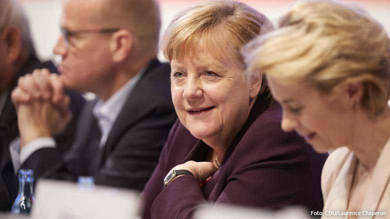 CDU Parteitag 2019 Abstimmung Merkel