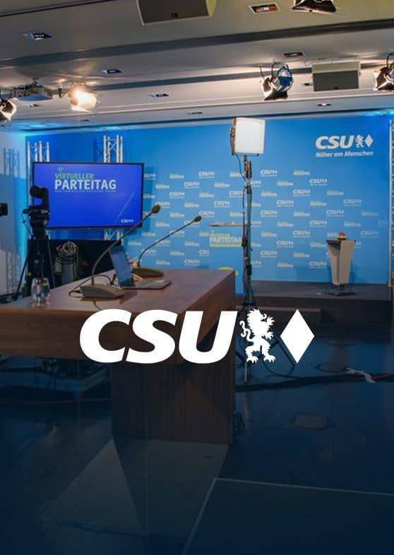 CSU digitaler Parteitag