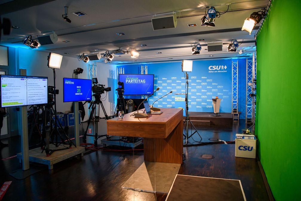 CSU virtueller Parteitag Regie