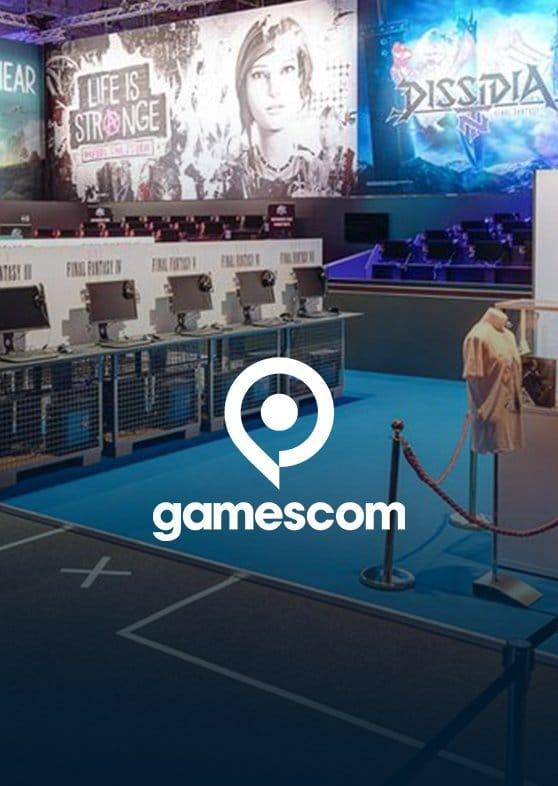 Gamescom Square Enix Stand