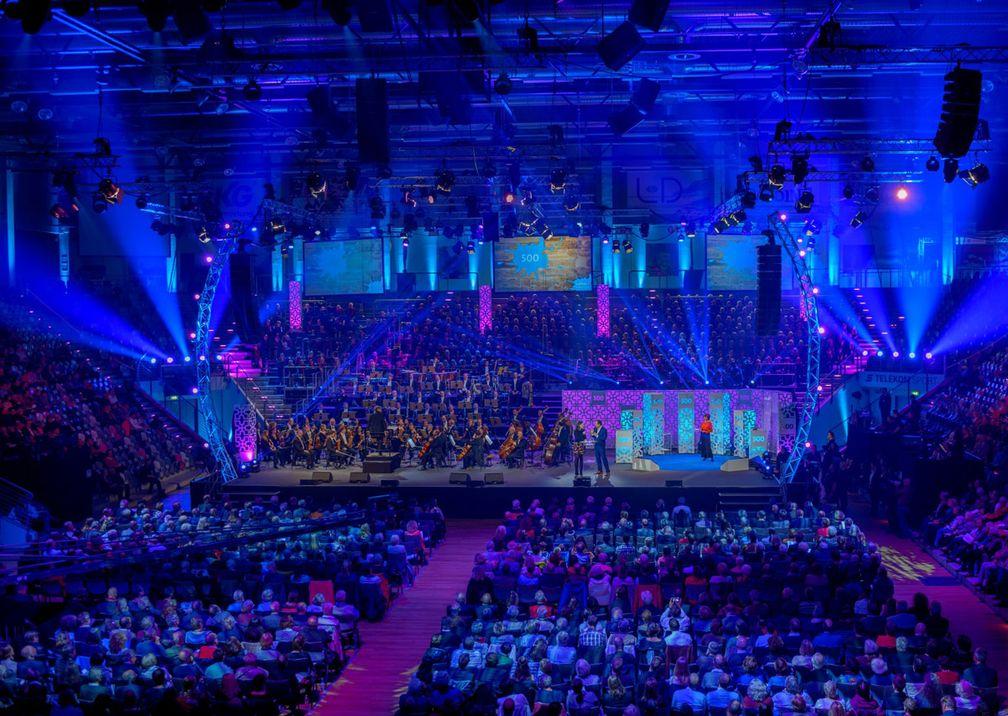 500 Jahre Martin Luther Bühne Saal