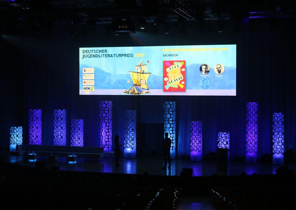 Buchmesse Bühne Preisverleihung