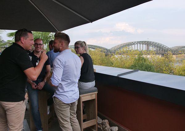 G+B End of Summer Köln Hohenzollernbrücke