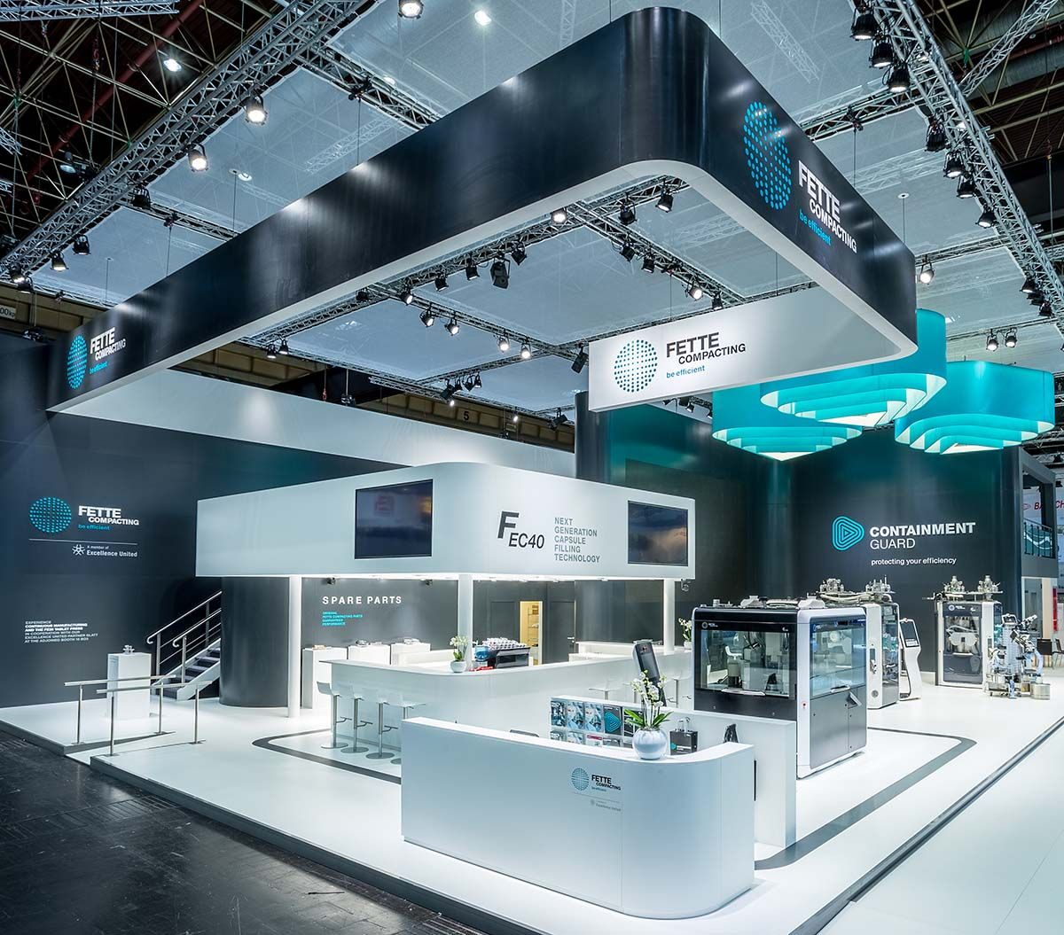 Fette Compacting Messestand