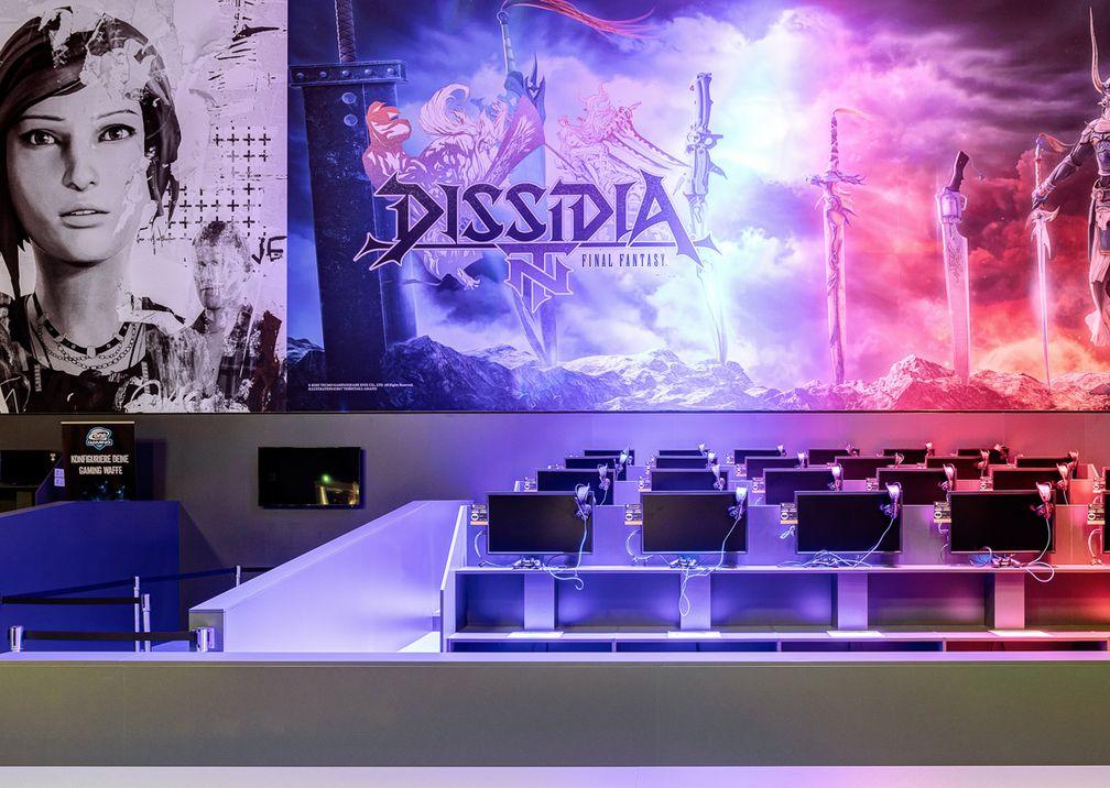 Gamescom Square Enix Messestand