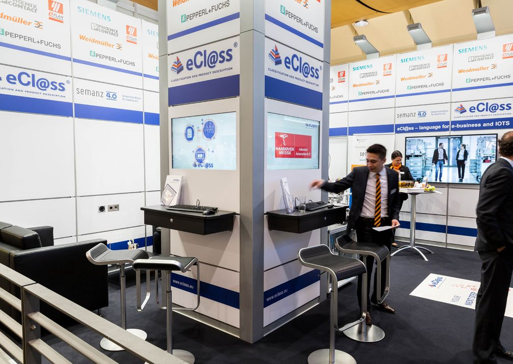 Hannover Messe Cisco Messestand