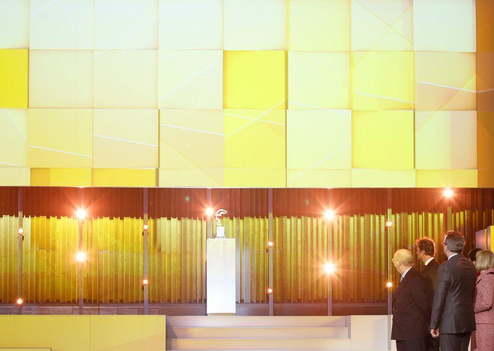 Hannover Messe Eröffnung Bühne