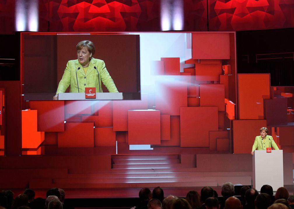 Hannover Messe Eröffnung Redner
