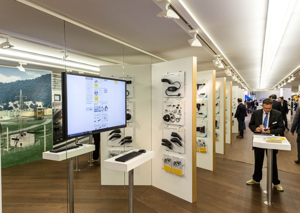 Hannover Messe Harting Messestand