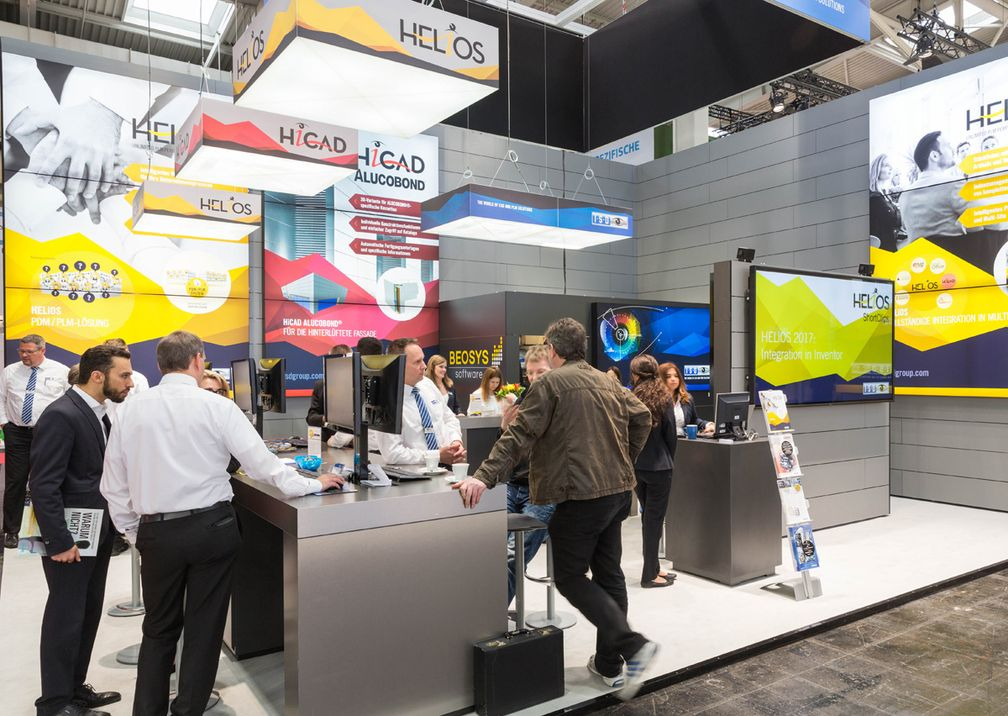 Hannover Messe ISD Messestand