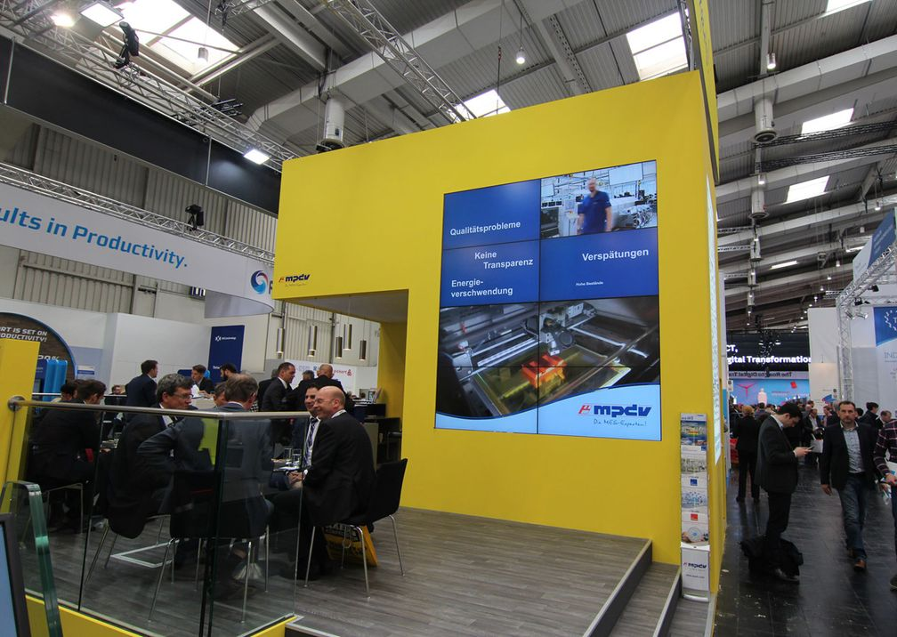 Hannover Messe Harting Ausstellung