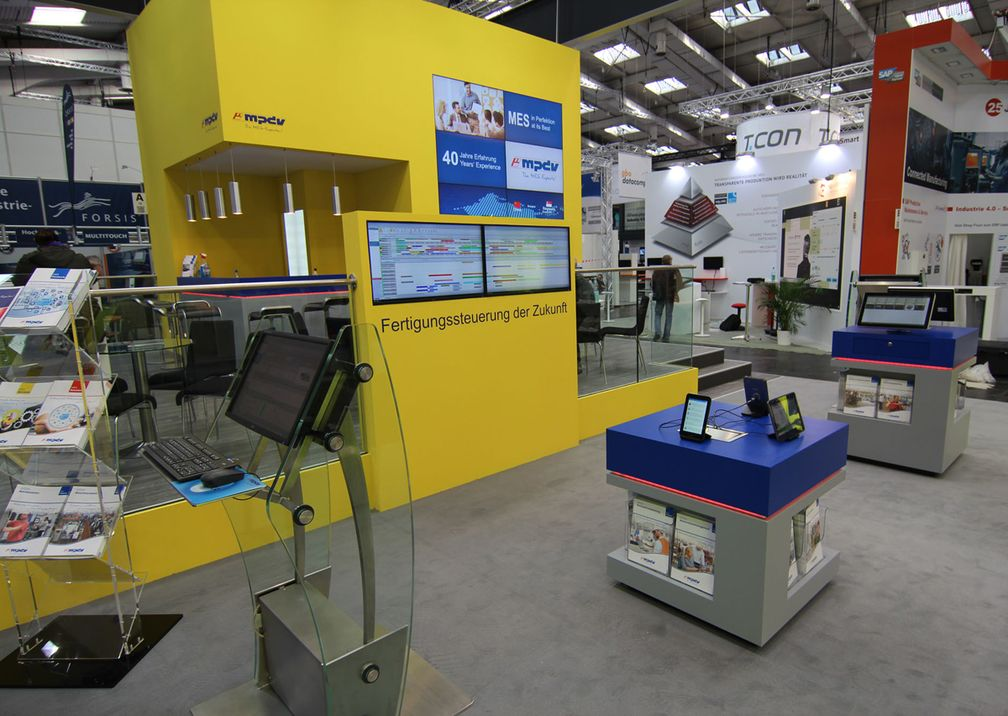 Hannover Messe MPDV Messestand