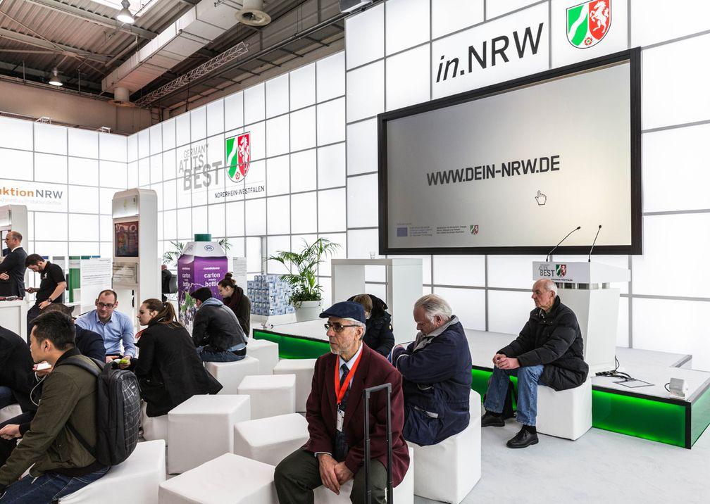Hannover Messe Wirtschaftsministerium Messestand