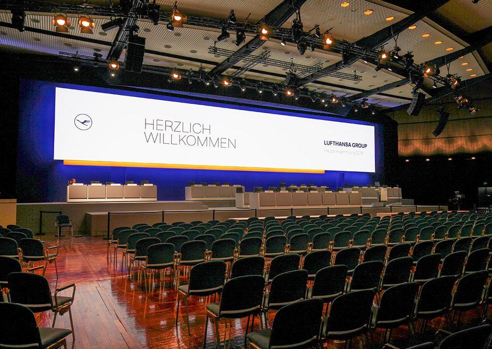 Deutsche Lufthansa AG Hauptversammlung Herzlich Willkommen