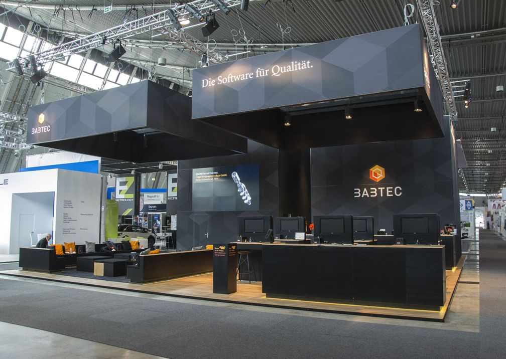 Messe Control Babtec Messestand