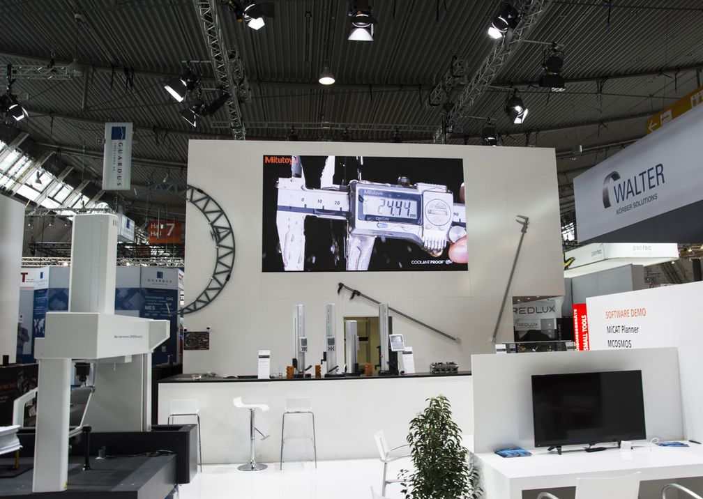 Messe Control Mitutoyo Messestand