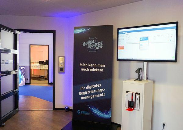 G+B Open House Hamburg Digitales Registrierungsmanagement