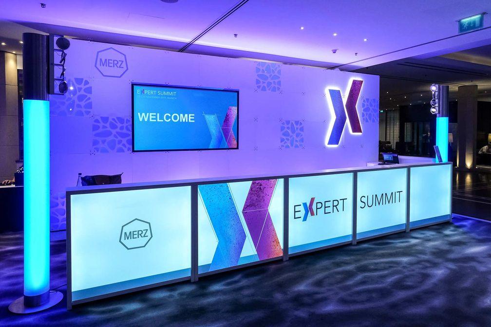 Merz Expert Summit Stand
