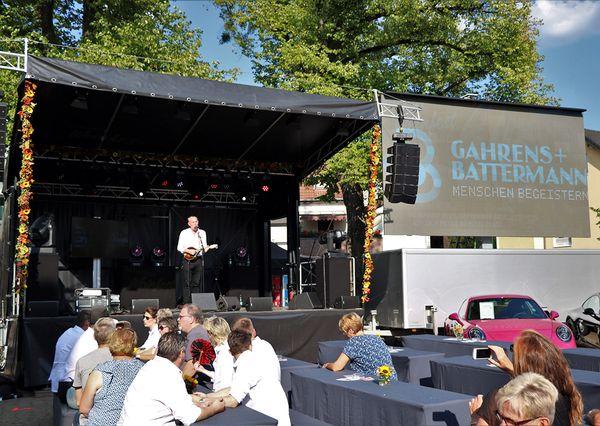 Refrather Weinfest Auftritt G+B