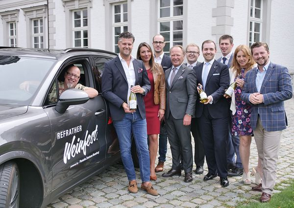 Refrather Weinfest Team