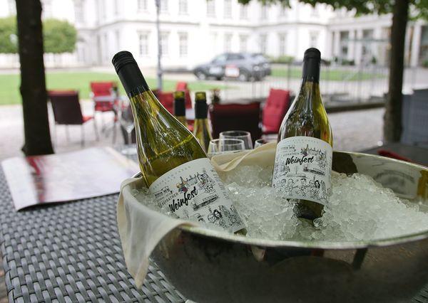 Refrather Weinfest Weinschale
