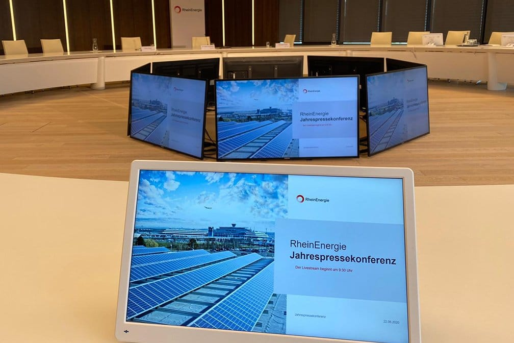 Rheinenergie Pressekonferenz