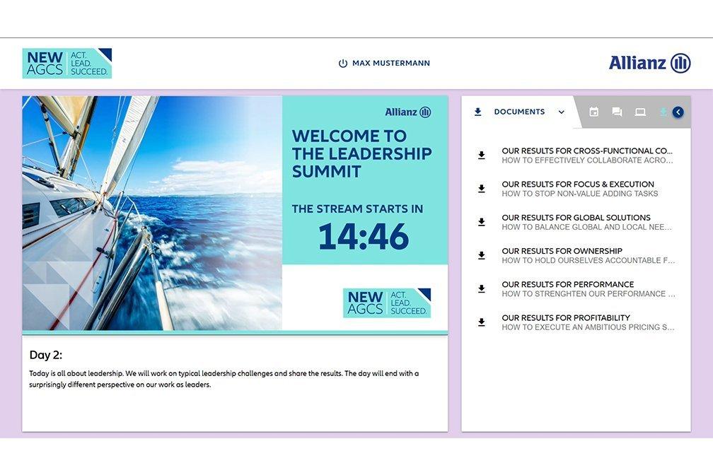 AGCS Leadership Summit Portal Welcome