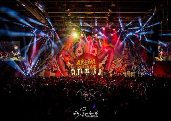 Arenaalaaf Bühne Nahaufnahme