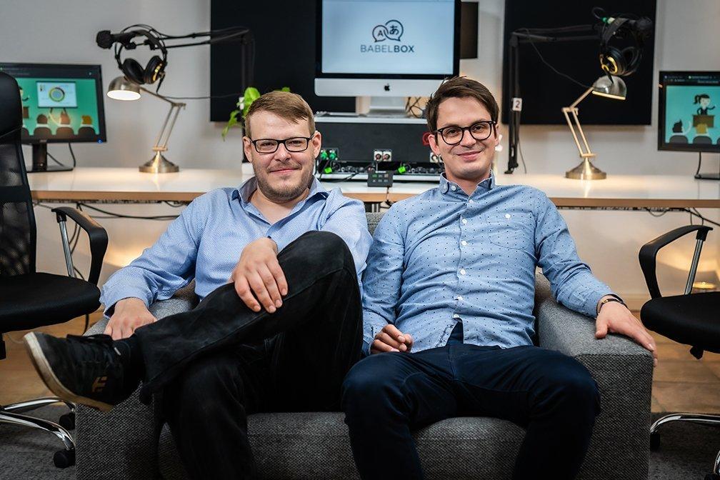 Babelbox Dolmetschertechnik Team