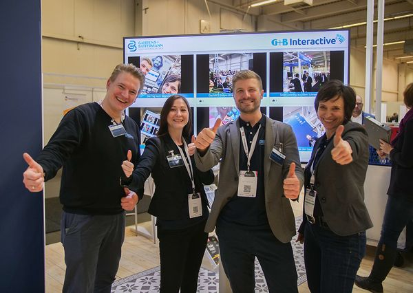 BOE 2019 G+B Interactive at the dfv joint stand