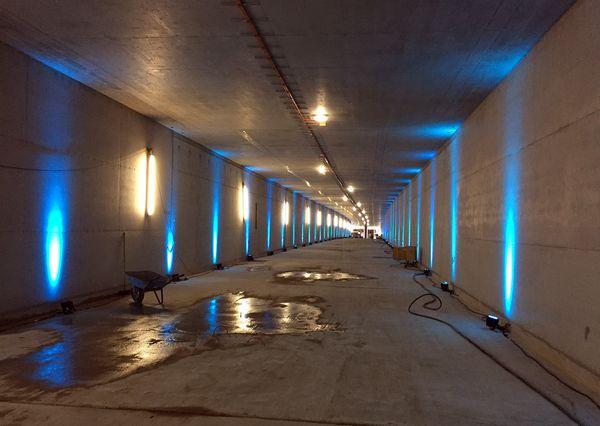 Elbbrücken Tunneltour vor Säuberung