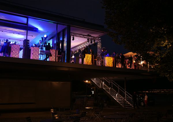 G+B Afterwork Party Terrasse