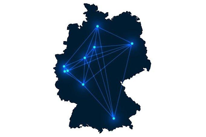 G+B Standortkarte