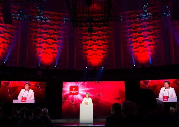 Hannover Messe 2018 Eröffnungsfeier Angela Merkel