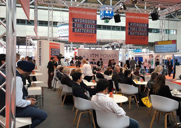 Hannover Messe 2018 Halle 27 Hydrogen Fuel Cells Batteries