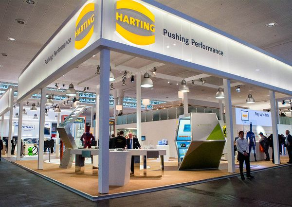 Hannover Messe 2018 Harting Stand