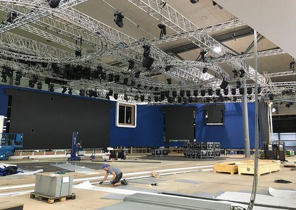 IAA VW set-up Mainstage