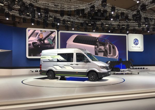 IAA VW I.D Buzz Cargo
