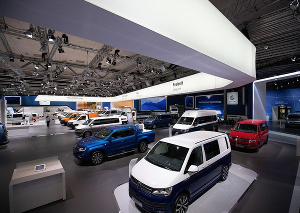 IAA VW presented vehicles