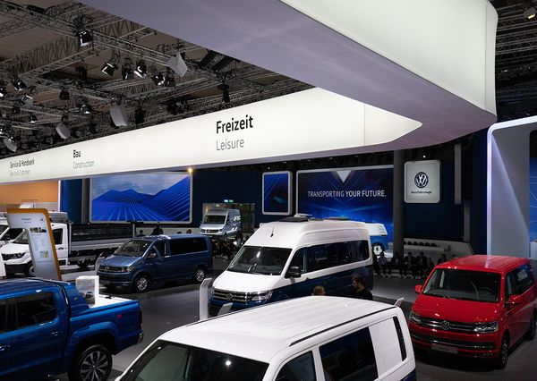 IAA VW presented commercial vehicles