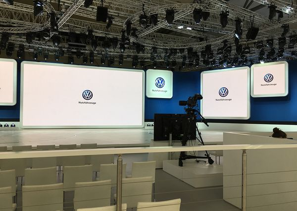 IAA VW Preparation of the presentation