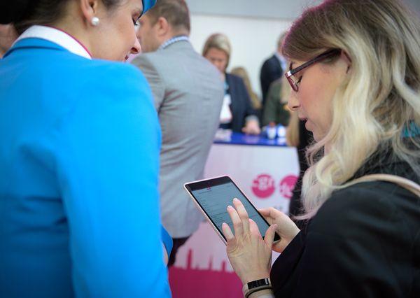 IMEX 2019 Meetropolis Gewinnspiel auf dem iPad