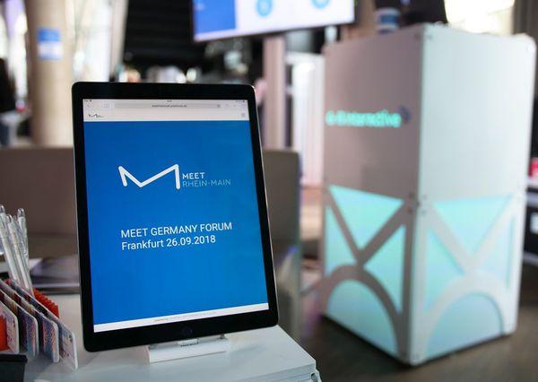 MEET GERMANY Forum Frankfurt 2018