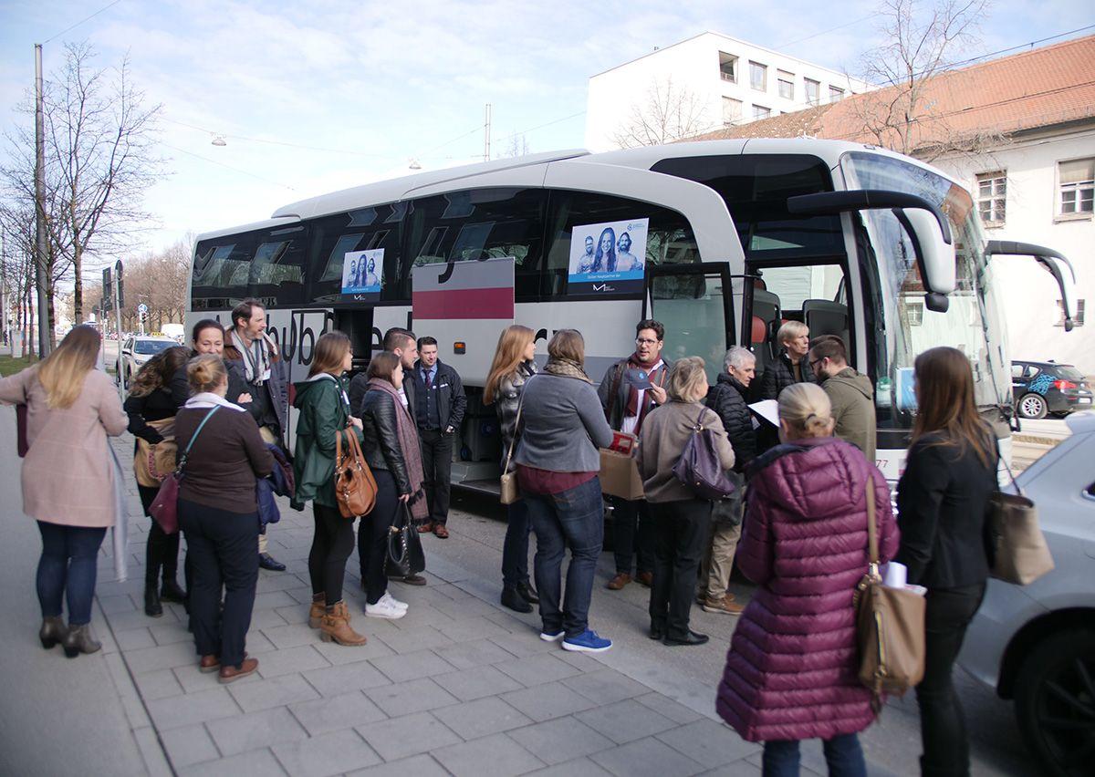 G+B Bus Tours MEET GERMANY SUMMIT Munich