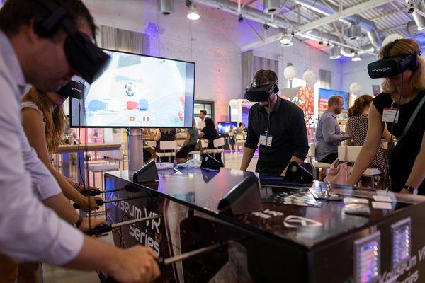 MEET NRW Summit VR Kickern