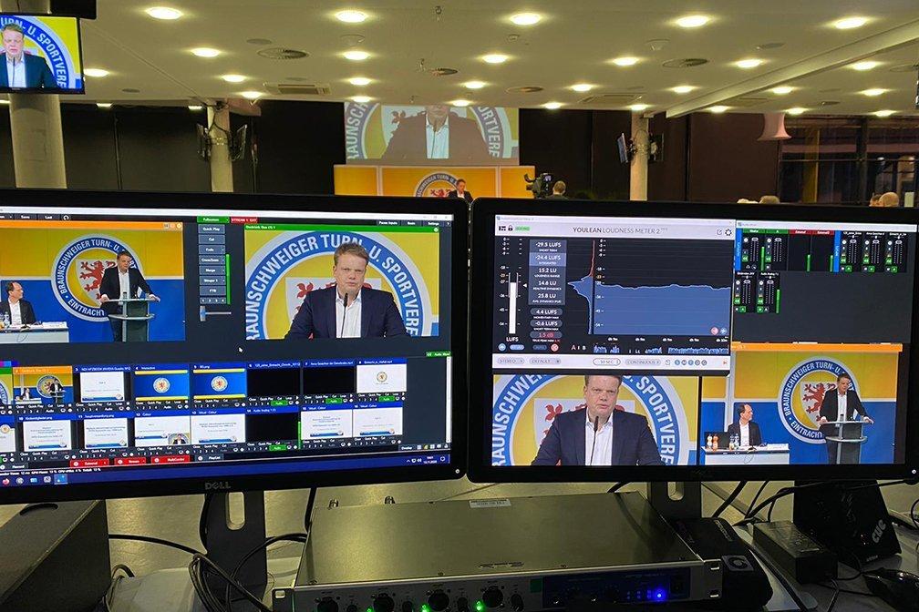 Eintracht Braunschweig digitale Mitgliederversammlung