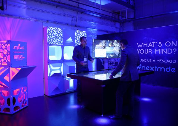 NextM Conference 2018 G+B Interactive Space Cafe