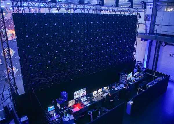 NextM Conference 2018 LED Wall Backstage