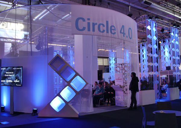 Prolight + Sound 2019 G+B Prolight + Sound 2019 Circle Stage 4.0 Entrance